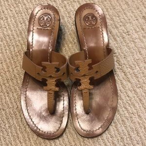 Brown Tory Burch Heels
